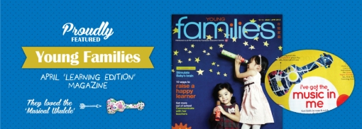Young Families Mag - musical learning